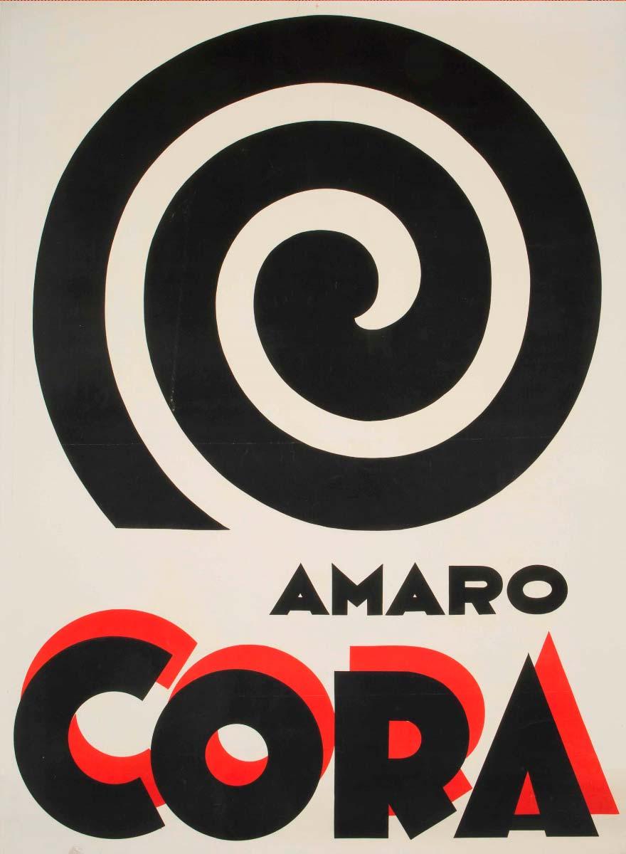 Poster Amaro Cora