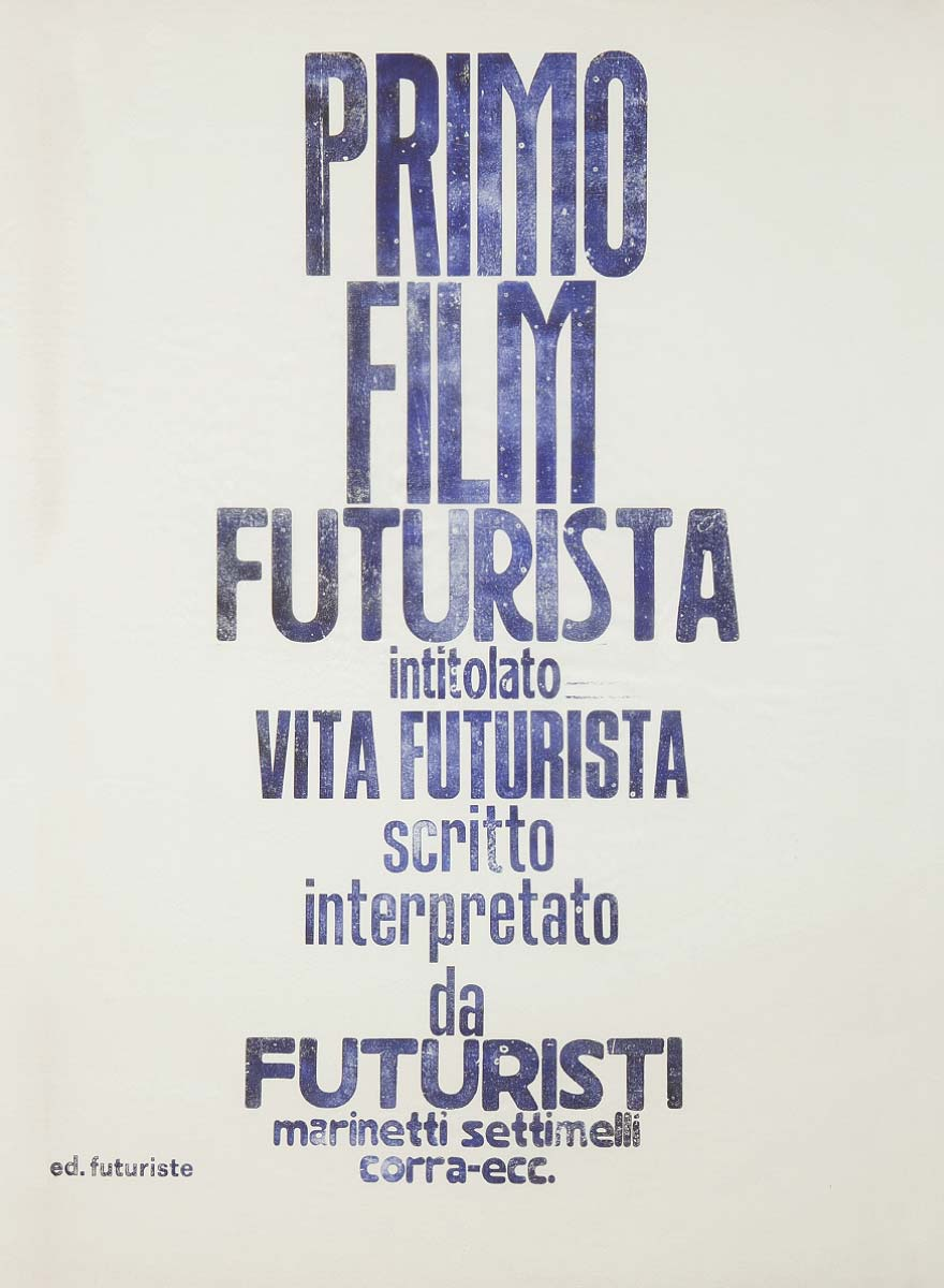 Poster Futurista