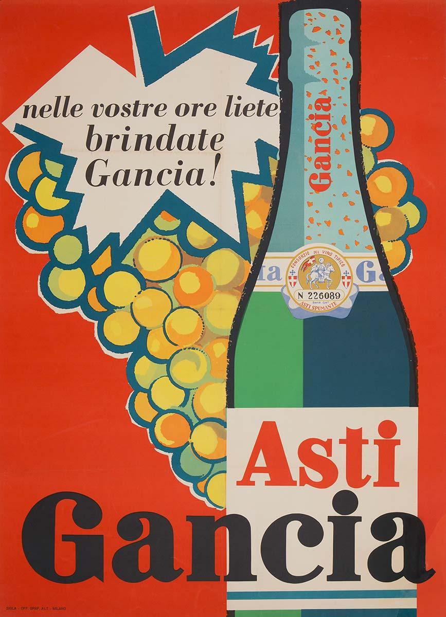 Poster Asti Gancia