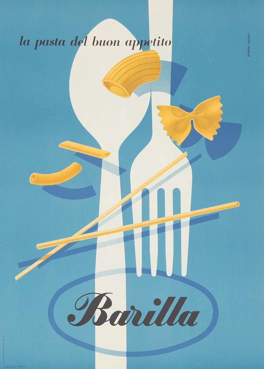 Poster Barilla