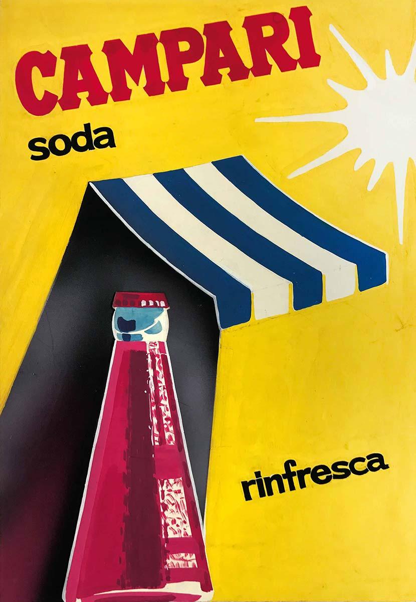 Poster Campari Soda