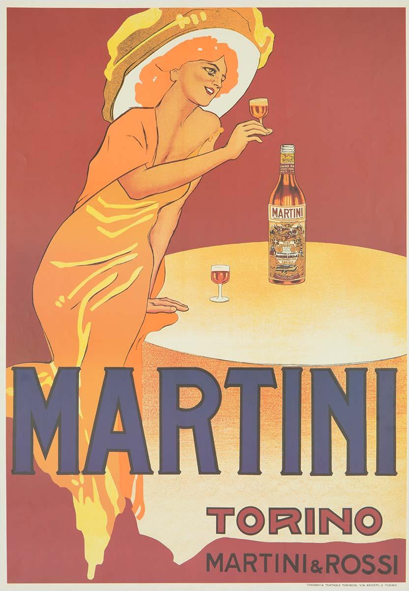 Poster Martini
